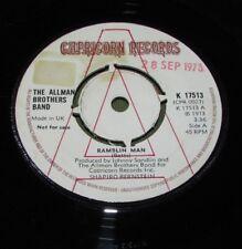 "THE ALLMAN BROTHERS BAND Ramblin Man ORIGINAL UK 1973 CAPRICORN 45"""