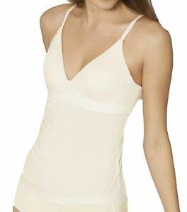 Sloggi Wow Comfort 2.0 Bra Shirt Shaping Vest Top Ecru White 1595 XS CS