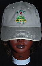 US Open 2013 Merion Golf Strapback Hat Cap USGA member tan khaki Tournament