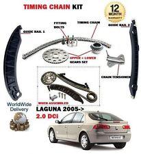 für Renault Laguna 2.0 dCi Diesel 1995cc 2005> Zeit Steuerkette Set mit Zahnrad