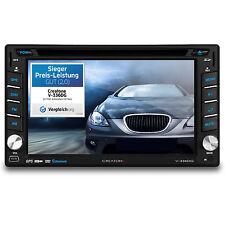 CREATONE V-336DG AUTORADIO DVD 2DIN TOUCHSCREEN GPS NAVI EUROPA BT l 64GB USB+SD