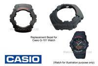 Genuine Casio Bezel for Casio G-101, G101 G-Shock watch bezel - Black Resin