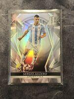 2016-17 Panini Spectra Soccer Sergio Aguero Silver Prizm Base Argentina