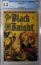 Black Knight #1 (Toby Press - 1953) CGC 3.5 VG- Bondage Cover Only 21 on Census