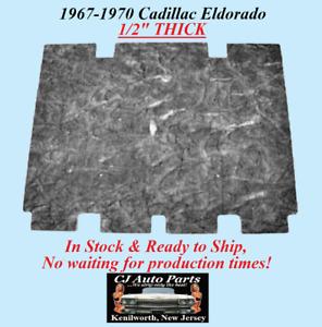 "REM 1967-1970 CADILLAC ELDORADO HOOD INSULATION - 1/2"" THICK - IN STOCK"