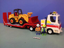 (K12) playmobil Camion transport Gigant ref 3935 + Buldozer