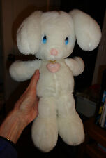Vintage Applause Bunny Rabbit White SNOWBALL 1985 Precious Moments Butcher Korea