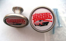 The Dukes of Hazzard Cabinet Knobs, General Lee Logo Knobs, Dukes of Hazzard