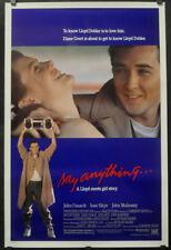 Say Anything' 89 Original 27X41 Gerollt Nr Mnt Film Poster John Cusack Ione Skye