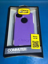 OtterBox Commuter case Apple iPhone 4/4s, PET screen protector, Purple & White!!