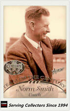 1996 Select AFL Hall Of Fame Team Of The Century PLATINUM TC1 Norm Smith (Melb)