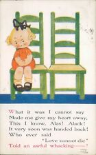 Postcard Mabel Lucie Attwell Love Cannot Die