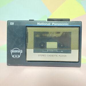Rare Panasonic Personal Cassette Player RQ-J11 Stereo To Go! 1980s Retro Working