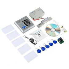Door Home Entry Access Control Fingerprint & RFID System Kit with Magnetic lock