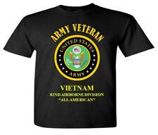 VIETNAM* 82ND AIRBORNE DIVISION *ARMY VETERAN* VINYL SHIRT OR SWEATSHIRT