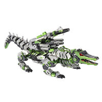 3D Metal Jigsaw Puzzle Model DIY Building Kits Alligator Art Crafts