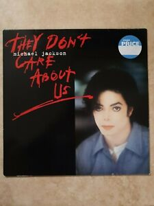 """Michael Jackson: 12"""" MAXI SINGLE They don't care about us / 1 VINYL Europe edit"""