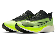 New Nike Zoom Fly 3 Electric Green Black Running Shoes Mens Size 11 AT8240-300