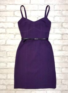 Michael Kors  Purple Dress XXS Size NEW