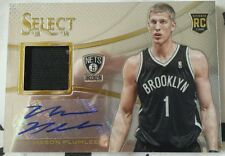 2013/14 Select Rookie Jersey Autographs - #2 Mason Plumlee (Brooklyn Nets)