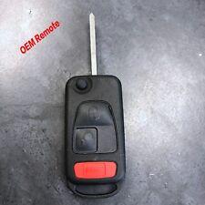 Uncut Oem Factory Complete Remote Flip Switchblade Key Mercedes Benz ML M S CL