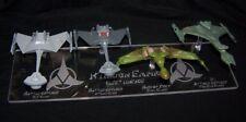 acrylic replacement display base for Eaglemoss Star Trek Klingon Lineage 23rd C