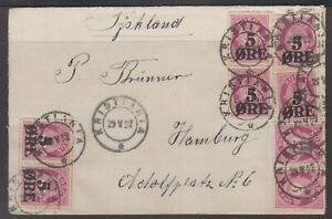 Norway 1922. Cover to Germany.