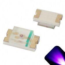 20 x LED 1206 UV Purple SMD LEDs SMT Lights Super Ultra Bright Car Models RC PC