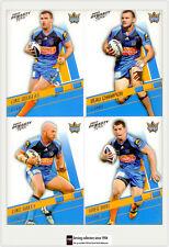 2012 Select NRL Dynasty Trading Card Base Team Set Titans (12)