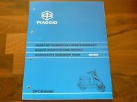 PIAGGIO ZIP II Cat 25 50 WERKSTATT HANDBUCH Service Station Repair Manual