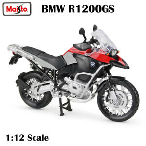 Maisto 1/12 BMW S1200 GS Motorcycles Assembled Building Toy Diecast Car Display