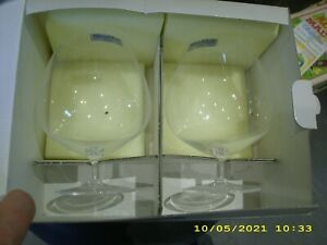 4 COGNACSCHWENKER, Allegorie - Brandy, Villeroy & Boch, OVP, Glas, Gläser