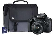 Canon EOS 4000D DSLR Camera Kit with EF-S 18-55 mm III Lens/16 GB SD Card Bag