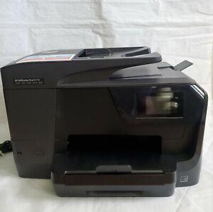 HP OfficeJet Pro 8710 All-in-One Inkjet Wireless Printer Scan Fax Copy