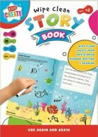 Early Learning Wipe Clean Create Your Own Story Book Activity Book Educational