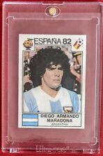 1982 Panini World Cup Espana  - Diego Maradona Rookie Sticker N° 176 - Argentina