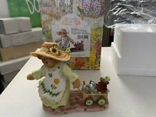 Cherished Teddies 2002 Members Only Savanah Tends Her Garden Ct021 with Box