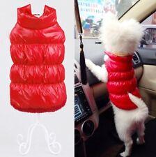 Hundemantel Wintermantel Hundebekleidung Hundejacke Chihuahua XS Yorky Jacke Rot