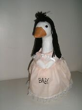 """Goose geese 17"""" Medium clothes Maternity peach dress outfit #551-4A Sale Price"""