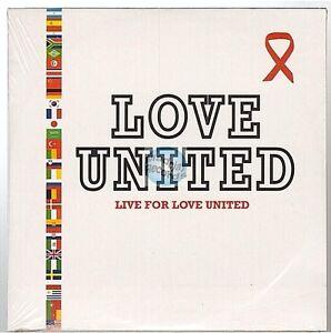 LIVE FOR LOVE UNITED CD SINGLE 2T obispo zidane .. NEUF