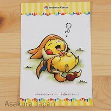 Pokemon Center Mega Tokyo Mega Charizard Y Pikachu Postcard #6 Not sold in store