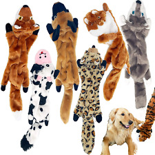 New listing Jalousie 6 Pack (18 Inch) Dog Squeaky Toys Three No Stuffing Toy Stuffingless Do
