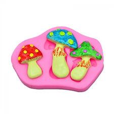 3D  Silicone Mold Mushroom Fondant Chocolate Cake Mould Decoration Baking Kits