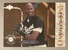 Michael Jordan 95 Retires One on One #5 Upper Deck Baseball Card HOF GOAT