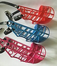 Don Pare small medium dog muzzle running, canicross lightweight 6 colours 3 size