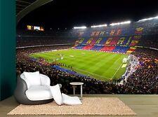 Football Soccer Barca Stadium Grass Wall Mural Photo Wallpaper GIANT WALL DECOR
