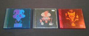 Insane Clown Posse ICP 3 CD Lot Milenko Red Foil Jeckel Brothers Carnival