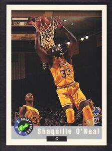 1992 Classic Basketball Promos #1 Shaquille O'Neal LSU Tigers