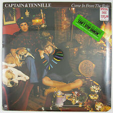 CAPTAIN & TENNILLE Come In From The Rain LP 1977 SOFT ROCK (STILL SEALED)