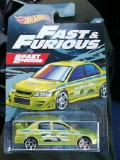 Hot wheels FAST FURIOUS MITSUBISHI LANCER EVOLUTION